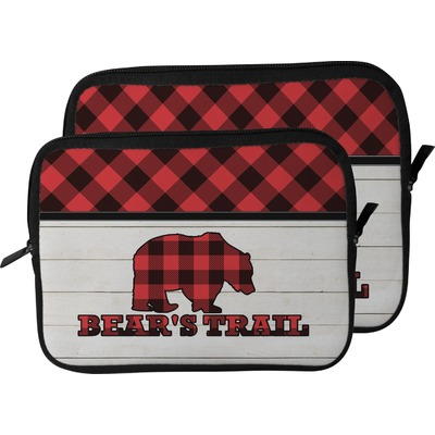 Lumberjack Plaid Laptop Sleeve / Case (Personalized)