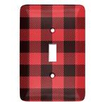 Lumberjack Plaid Light Switch Covers (Personalized)