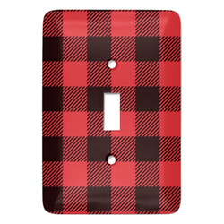Lumberjack Plaid Light Switch Covers (Personalized)