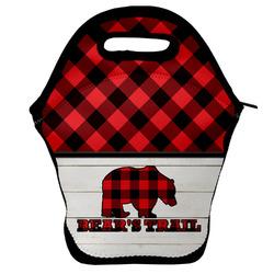 Lumberjack Plaid Lunch Bag (Personalized)