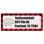 Lumberjack Plaid Return Address Labels (Personalized)