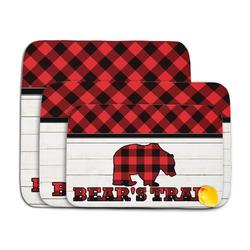 Lumberjack Plaid Memory Foam Bath Mat (Personalized)