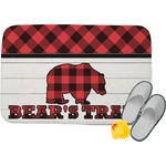 Lumberjack Plaid Memory Foam Bath Mat (Personalized)