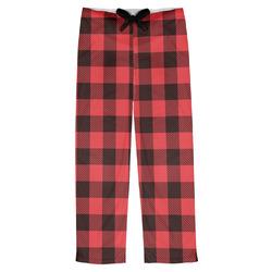 Lumberjack Plaid Mens Pajama Pants (Personalized)