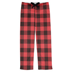 Lumberjack Plaid Mens Pajama Pants (Personalized)