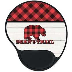 Lumberjack Plaid Mouse Pad with Wrist Support