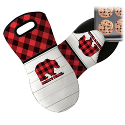 Lumberjack Plaid Neoprene Oven Mitt (Personalized)