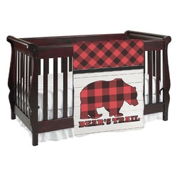 Lumberjack Plaid Baby Blanket (Personalized)