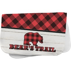 Lumberjack Plaid Burp Cloth (Personalized)