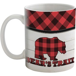 Lumberjack Plaid Coffee Mug (Personalized)