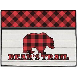Lumberjack Plaid Door Mat (Personalized)