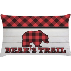 Lumberjack Plaid Pillow Case (Personalized)
