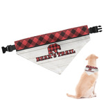 Lumberjack Plaid Dog Bandana (Personalized)