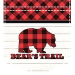 Lumberjack Plaid Iron On Faux Pocket (Personalized)