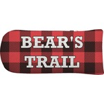 Lumberjack Plaid Putter Cover (Personalized)