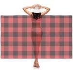 Lumberjack Plaid Sheer Sarong (Personalized)