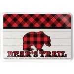 Lumberjack Plaid Serving Tray (Personalized)