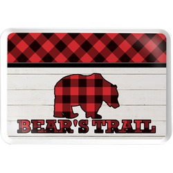 Lumberjack Plaid Serving Tray (Personalized)