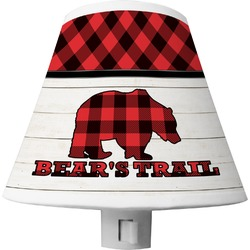 Lumberjack Plaid Shade Night Light (Personalized)