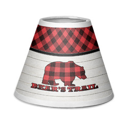 Lumberjack Plaid Chandelier Lamp Shade (Personalized)
