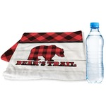 Lumberjack Plaid Sports & Fitness Towel (Personalized)
