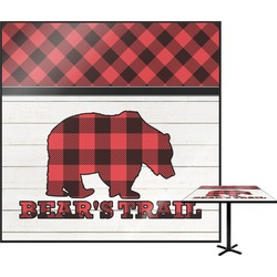 Lumberjack Plaid Square Table Top (Personalized)