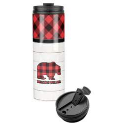Lumberjack Plaid Stainless Steel Tumbler (Personalized)