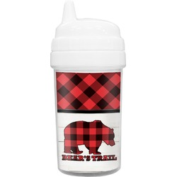 Lumberjack Plaid Toddler Sippy Cup (Personalized)