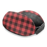 Lumberjack Plaid Travel Neck Pillow