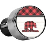 Lumberjack Plaid USB Car Charger (Personalized)