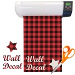 Lumberjack Plaid Vinyl Sheet (Re-position-able)
