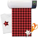 "Lumberjack Plaid Heat Transfer Vinyl Sheet (12""x18"")"