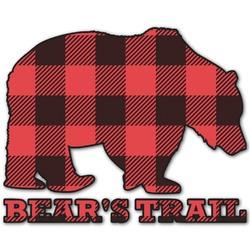 Lumberjack Plaid Graphic Decal - Custom Sized (Personalized)