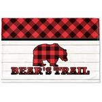 Lumberjack Plaid Woven Mat (Personalized)