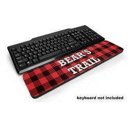 Lumberjack Plaid Keyboard Wrist Rest (Personalized)