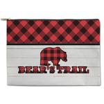 Lumberjack Plaid Zipper Pouch (Personalized)