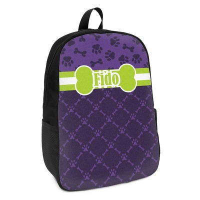 Pawprints & Bones Kids Backpack (Personalized)