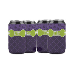 Pawprints & Bones Can Sleeve (12 oz) (Personalized)