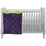 Pawprints & Bones Crib Comforter / Quilt (Personalized)