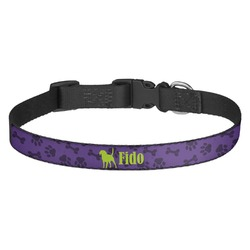 Pawprints & Bones Dog Collar (Personalized)