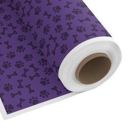 Pawprints & Bones Custom Fabric by the Yard (Personalized)