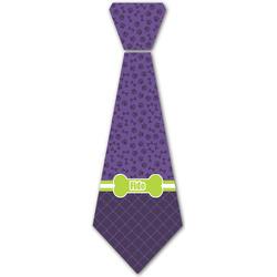 Pawprints & Bones Iron On Tie - 4 Sizes (Personalized)