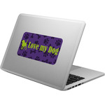 Pawprints & Bones Laptop Decal (Personalized)