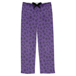 Pawprints & Bones Mens Pajama Pants (Personalized)