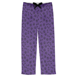 Pawprints & Bones Mens Pajama Pants (Personalized)