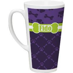 Pawprints & Bones Latte Mug (Personalized)