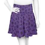Pawprints & Bones Skater Skirt (Personalized)