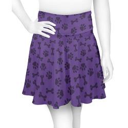 Pawprints & Bones Skater Skirt (Personalized)