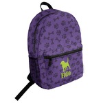 Pawprints & Bones Student Backpack (Personalized)