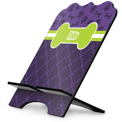 Pawprints & Bones Stylized Tablet Stand (Personalized)